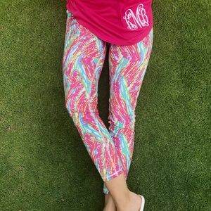 Coral reef printed leggings Lilly Inspired